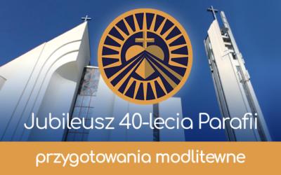 Nowenna niedziel przedjubileuszem 40-lecia parafii